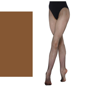 'SILKY' BRAND FISHNET TIGHTS Tights & Socks Silky Natural Age 11-13