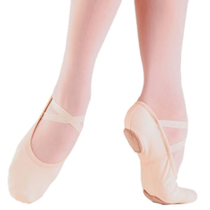SO DANCA STRETCH CANVAS SD16 BALLET SHOES IN PINK Dance Shoes So Danca Pink Junior 10