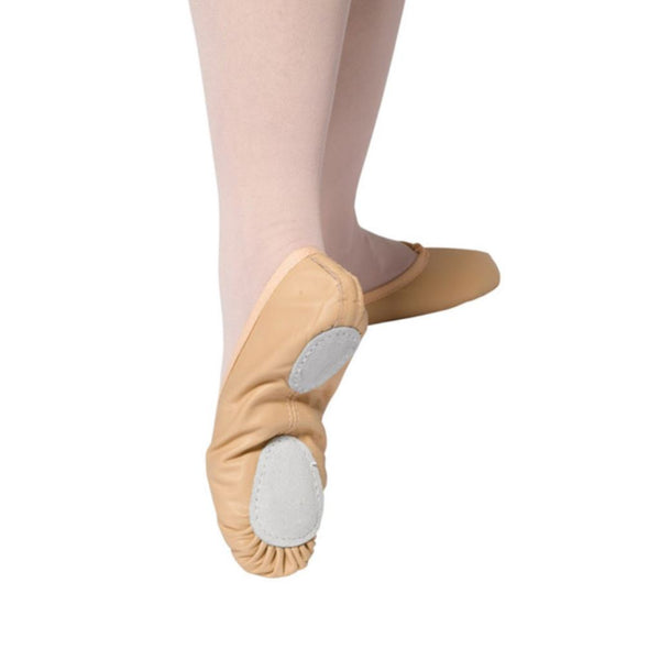 TAPPERS AND POINTERS SPLIT SOLE PINK LEATHER BALLET SHOES Dance Shoes Tappers and Pointers Size 1