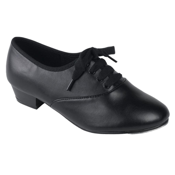 TAPPERS & POINTERS BOYS/MENS PU OXFORD TAP SHOES Dance Shoes Tappers and Pointers Junior 7