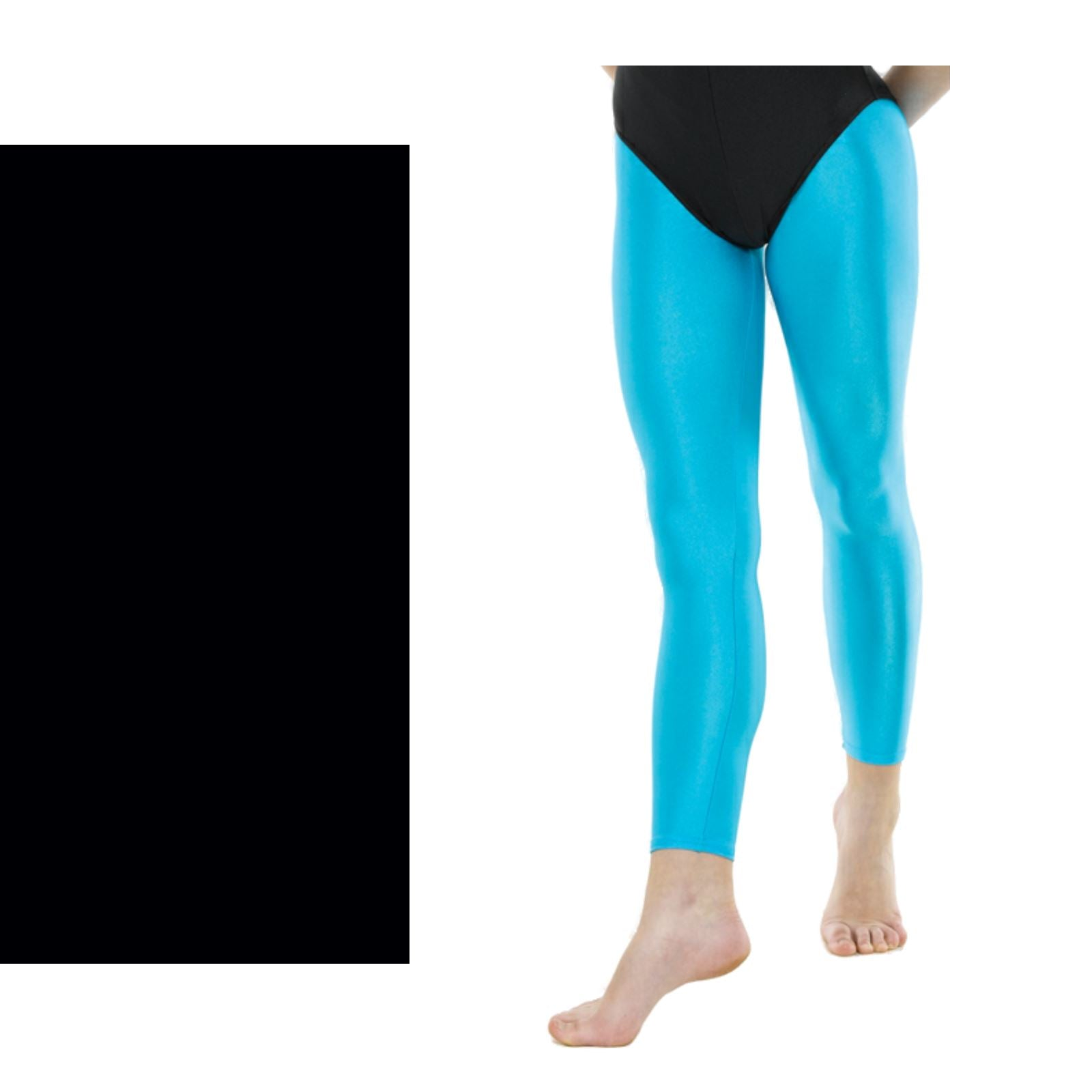 Tappers /& Pointers Footless Tights//Leggings Nylon Lycra 8/ Colours