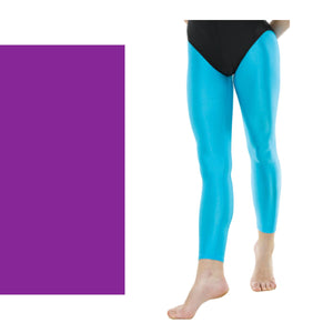 TAPPERS & POINTERS FOOTLESS TIGHTS Dancewear Tappers and Pointers Purple 0 (Age 4-5)
