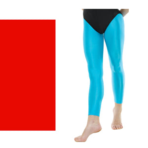 TAPPERS & POINTERS FOOTLESS TIGHTS Dancewear Tappers and Pointers Red 0 (Age 4-5)