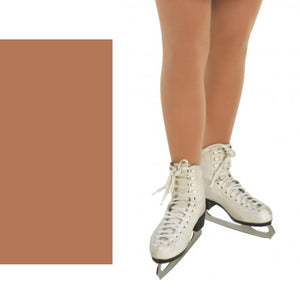 TAPPERS & POINTERS FULL FOOT SKATE TIGHTS Tights & Socks Tappers and Pointers Natural Age 4-6