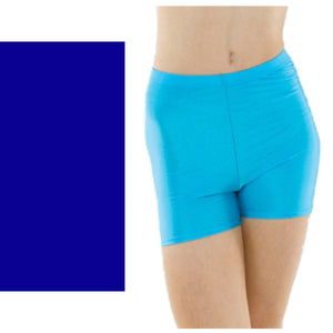 TAPPERS & POINTERS HOTPANTS Dancewear Tappers and Pointers Royal Blue 1 (Age 6-8)
