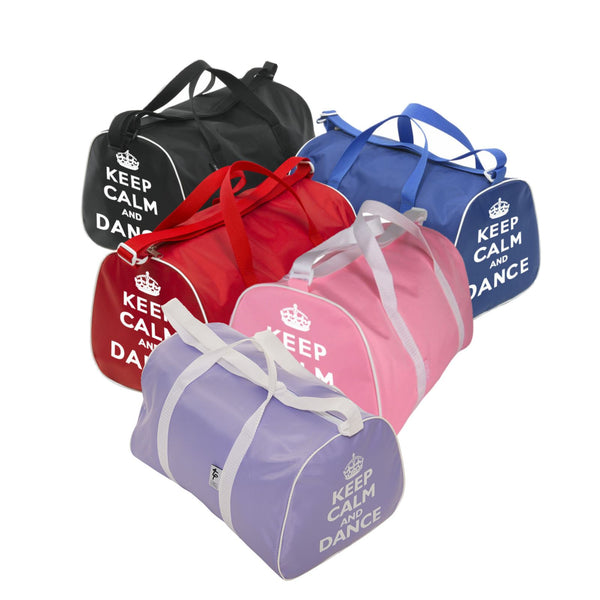 TAPPERS & POINTERS KEEP CALM AND DANCE HOLDALL Bags & Holdalls Tappers and Pointers