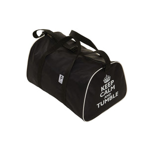 TAPPERS & POINTERS KEEP CALM AND TUMBLE HOLDALL Bags & Holdalls Tappers and Pointers Black