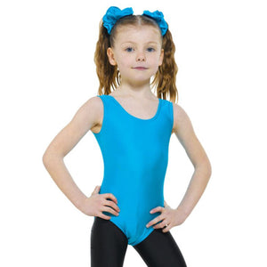 TAPPERS & POINTERS LEO1 SLEEVELESS PLAIN FRONT LEOTARD Dancewear Tappers and Pointers