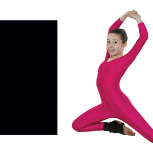 TAPPERS & POINTERS LONG SLEEVE CATSUIT Dancewear Tappers and Pointers Black 1 (Age 6-8)