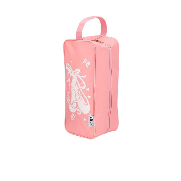 TAPPERS & POINTERS PINK NYLON SHOE BAG WITH BALLET SHOE LOGO Bags & Holdalls Tappers and Pointers