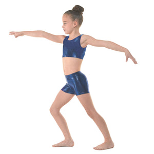 TAPPERS & POINTERS SHINE HIPSTER MICRO SHORTS Dancewear Tappers and Pointers Amazon Shine 0 (Age 4-5)