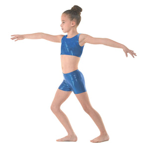 TAPPERS & POINTERS SHINE HIPSTER MICRO SHORTS Dancewear Tappers and Pointers Paradise Shine 0 (Age 4-5)