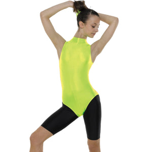 TAPPERS & POINTERS SLEEVELESS POLO NECK LEOTARD Dancewear Tappers and Pointers