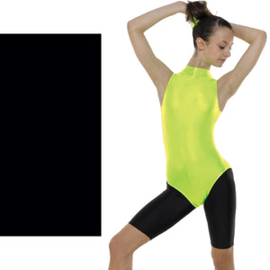 TAPPERS & POINTERS SLEEVELESS POLO NECK LEOTARD Dancewear Tappers and Pointers Black 0 (Age 4-5)