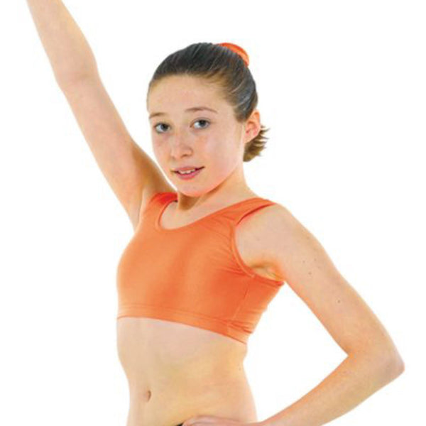 TAPPERS & POINTERS SLEEVELESS VEST CROP TOP Dancewear Tappers and Pointers