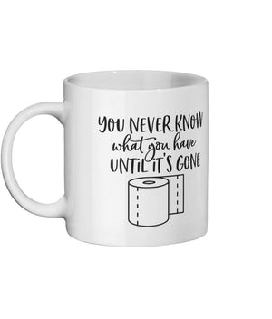 YOU NEVER KNOW 11oz Ceramic mug Mugs & Drinkware Click Dancewear