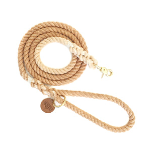 Bronze Ombré Dog Leash