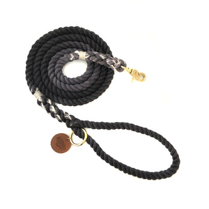 Charcoal Ombré Dog Leash