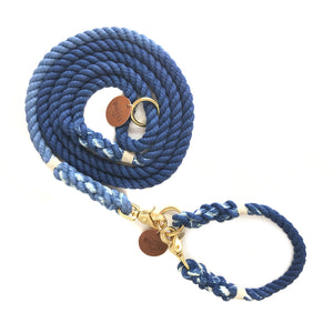 Royal Blue Ombré Dog Leash