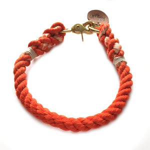 Orange Ombré Dog Collar