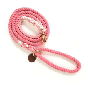 Pink Ombré Dog Leash