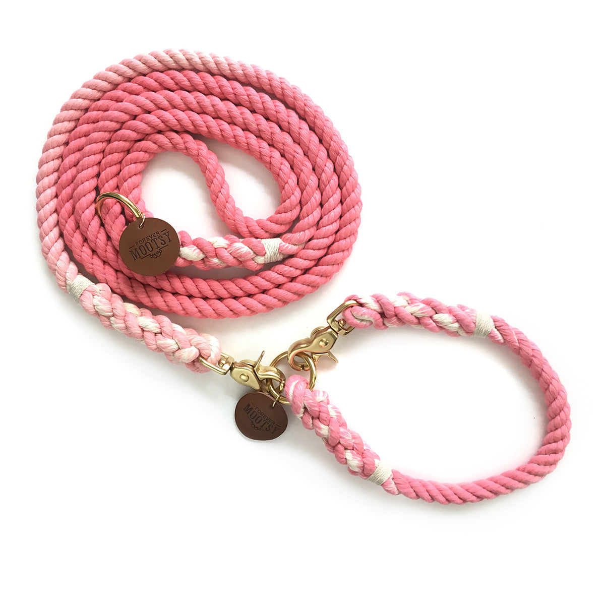 Pink Ombré Dog Collar