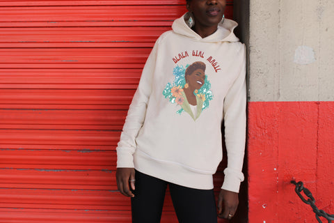 Hoodie BLACK GIRL MAGIC pour Rokhaya Diallo