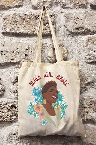 Totebag BLACK GIRL MAGIC pour Rokhaya Diallo