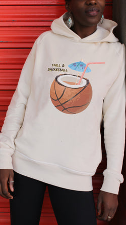 Hoodie CHILL & BASKETBALL