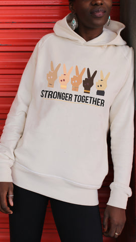 Hoodie STRONGER TOGETHER