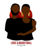 Totebag LOVE & BASKETBALL