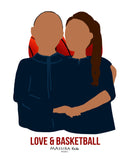 Sweatshirt LOVE & BASKETBALL