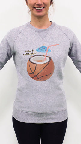 Sweatshirt CHILL & BASKETBALL