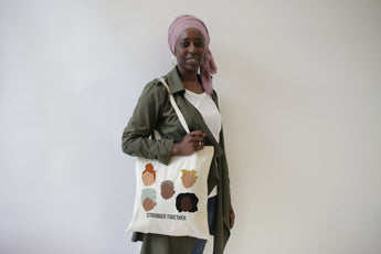 Totebag STRONGER TOGETHER pour Rokhaya Diallo