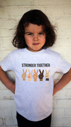 Tee-shirt STRONGER TOGETHER for KIDS