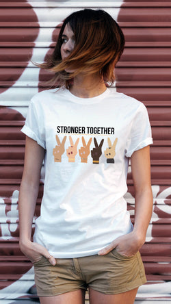 Tee-shirt STRONGER TOGETHER
