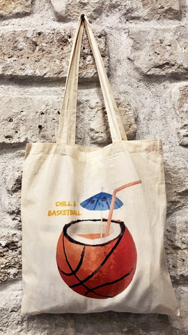 Totebag CHILL & BASKETBALL