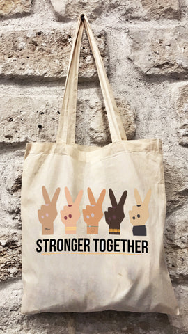 Totebag STRONGER TOGETHER