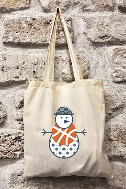 Totebag WINTER BASKETBALL