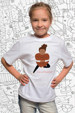 Tee-shirt LOVE & BASKETBALL for KIDS