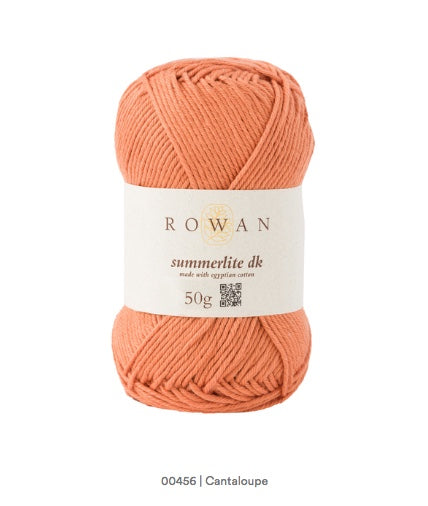 Rowan Summerlite DK in the color Cantaloupe 456