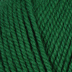Plymouth encore Worsted yarn in the color Christmas Green 0054