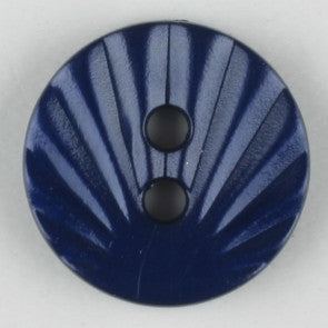 Navy Blue Polyamide Button 13mm