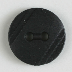 Black button 13mm
