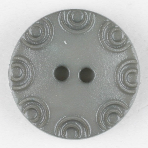 Grey Button with Engraving