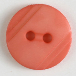Pink Round Button 13mm