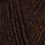 Plymouth Encore Mega Yarn in the color 1444 Brown Heather