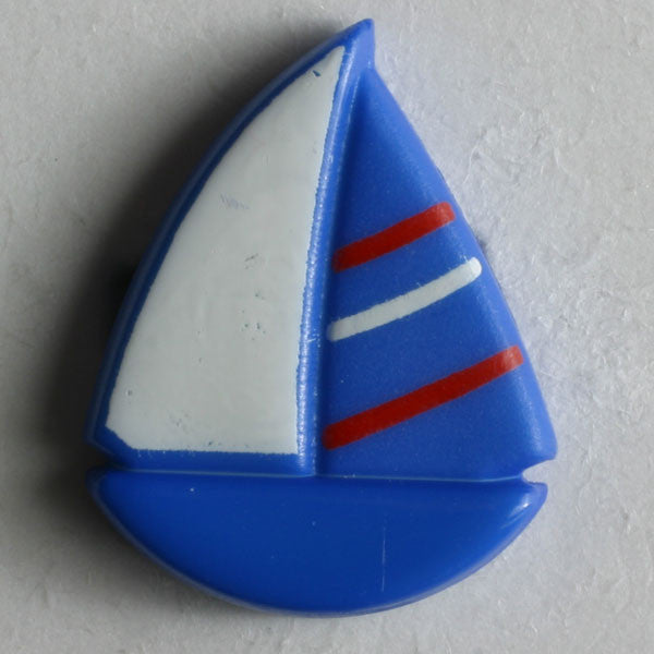 Sailboat Novelty Button