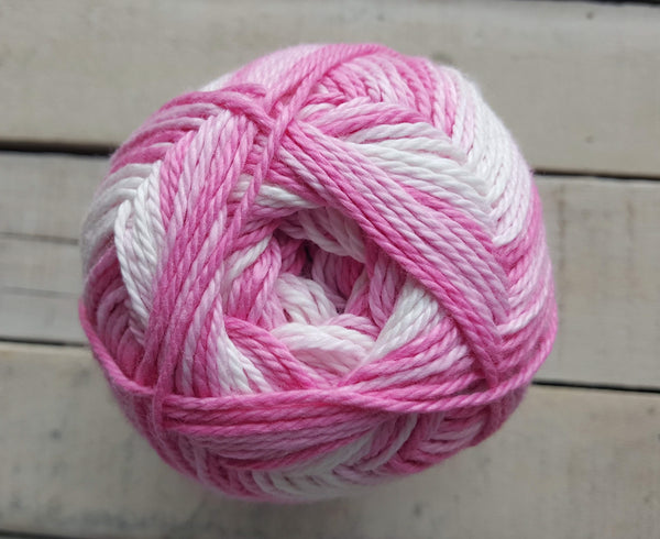 King Cole Cottonsoft Baby Crush DK Yarn in the color Pinks