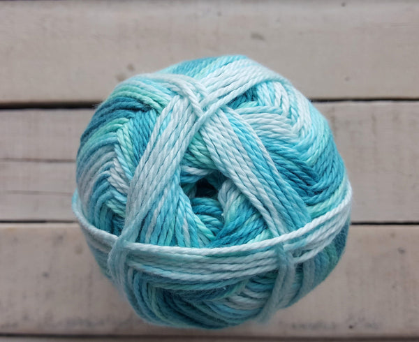 King Cole Cottonsoft Baby Crush DK Yarn in the Color Aquas